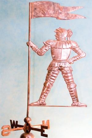 Рыцарь с флагом
