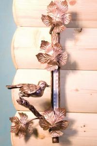 Термометр декоративный с птичкой настенный