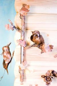 Термометр декоративный сова на ветке