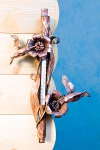 Термометр декоративный две птички настенный