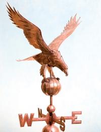 Орел на шаре